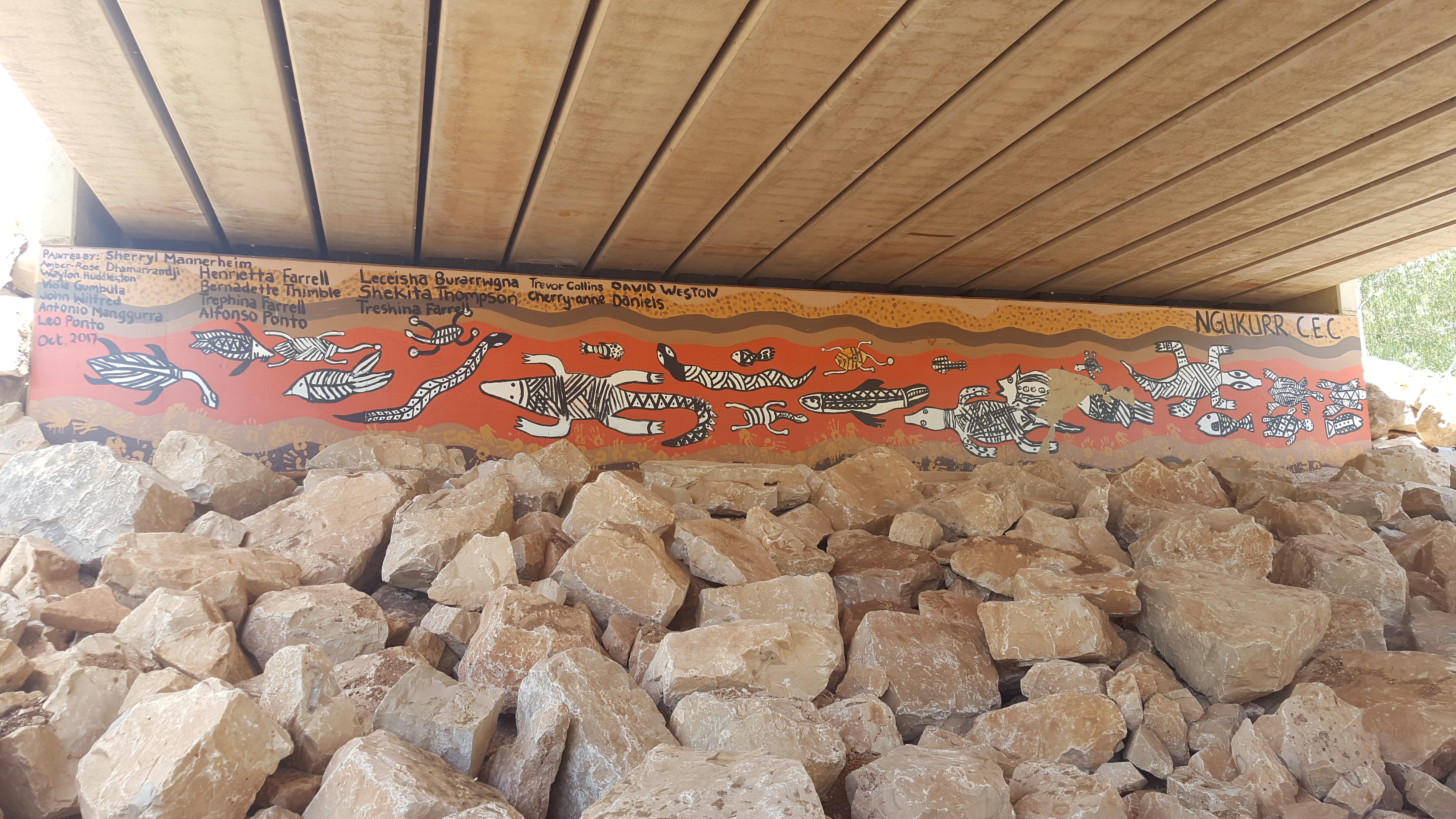 MuralByNgukurrSchool